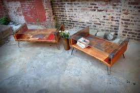 endearing interior furniture from recycled materials with coffee