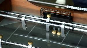 Wilson Foosball Table D8 Foosball Players U0026 Rod Replacement Instruction Video Youtube