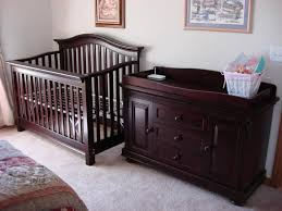 Changing Table Dresser Cherry Cherry Wood Baby Dresser Doherty House Earth Tone Cherry Wood