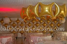 gold and white party decorations 21