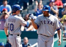 lexus box texas rangers texas rangers after cruz gets plunked michael young u0027s homer
