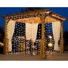Led Light Curtains 10ft 300 Led Warm White String Curtain Light Dailysale
