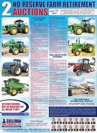 sullivan auctioneersupcoming events two no reserve farm