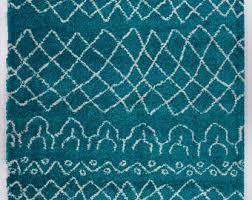 Turquoise Area Rug Turquoise Area Rug Etsy