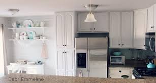 Kitchen With Painted Cabinets Decorating Dear Lillie Kitchen With Black Kitchen Cabinets And