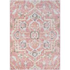 Pink Area Rug Mistana Fields Pink Area Rug Reviews Wayfair