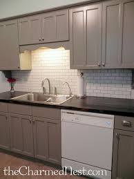 Top  Best Paint Cabinets White Ideas On Pinterest Painting - Painting kitchen cabinets with black chalk paint