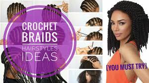 crochet black hairstyles 11 new crochet braids hairstyles ideas 2017 women must try