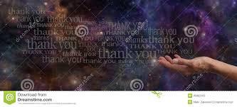 imagenes de agradecimiento al universo agradecimiento de la bandera del sitio web del universo imagen de