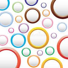 imagenes abstractas con circulos fondo colorido abstracto con los círculos ilustración del vector