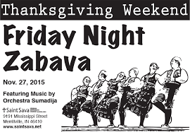 friday zabava thanksgiving weekend save the date nov 27