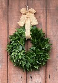 fresh bay leaf wreaths mcfadden farm