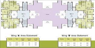 Wisteria Floor Plan Vastuyog Wisteria In Mundhwa Pune Price Location Map Floor