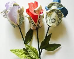 money flowers money origami etsy