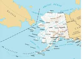 map usa russia can you really see russia from alaska
