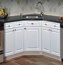 Kitchen Magnificent Built In Corner Kitchen Sinks And Cabinets Fivhter Com