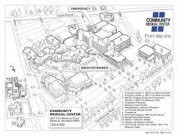 campus map community medical center