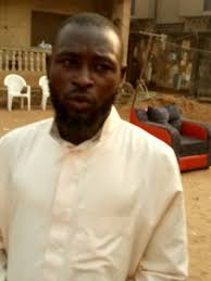 his and items alfa arrested with human parts and other items in his