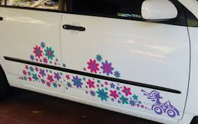 hippy driver camper van decal hippie surfer car sticker hippy hippy driver surfer etc car sticker