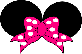 minnie mouse pink bow clipart clipartxtras