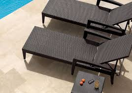 Outdoor Sun Lounge Chairs Contemporary Sun Lounger Aluminum Resin Wicker Outdoor