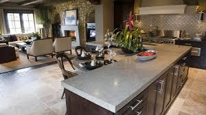 13 contemporary designer custom kitchen with concrete counter