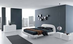 Small Modern Grey Bedroom Cool White Decoration In Contemporary Bedroom Find The Classy And