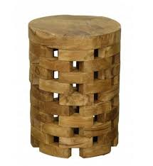 Teak Side Table Roundteaksidetable 2 Jpg