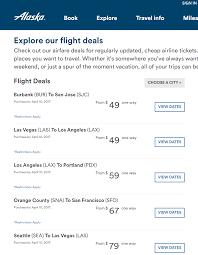 Alaska air cheap flights 49 to 160