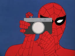 Meme Generator Spiderman - spiderman camera blank meme template imgflip
