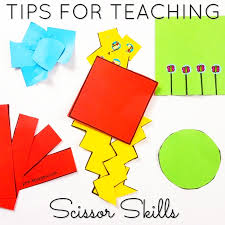tips for teaching scissor cutting skills
