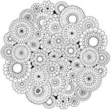 Grand coloriage mandala à imprimer dans 11 coloriages de mandalas