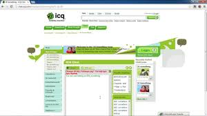 Yahoo Messenger Live Chat Room by How To Join Icq Chat Room Without Installing Icq Client Youtube