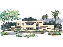 adobe style home plans adobe house plan with 3328 square feet and 4 bedrooms from dream