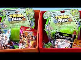 blind bag opening trash pack playmobil monster marbles