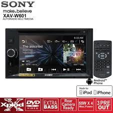 nissan almera radio code error sony double din 6 2 u201d dvd usb mp3 car stereo player xav w601