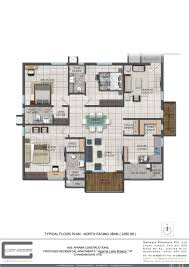 floor plan aparna constructions aparna hillpark lake breeze at