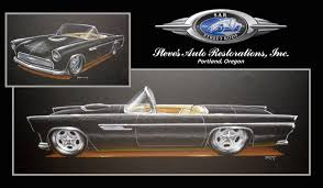 1955 ford thunderbird rod network