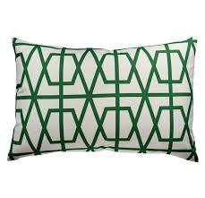 Emerald Home Decor by Luxury Linen Lumbar Pillow Home Decor Via San Vito Via San Vito