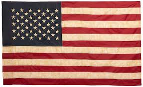 American Flag Bed Set Amazon Com Vintage Look Tea Stained American Flag 60x36inches