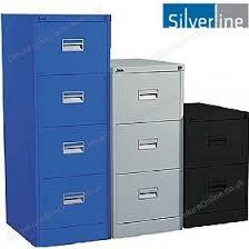 Silverline Filing Cabinet Silverline Midi Filing Cabinets Metal Filing Cabinets