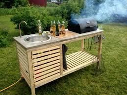 outdoor küche küche faszinierend outdoor küche holz entwürfe entzückend