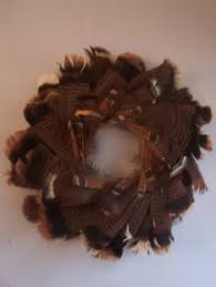 turkey feather wreath turkey feather wreath wreaths feather wreath