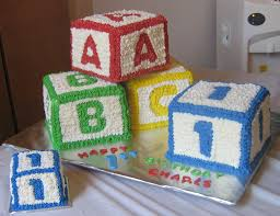 a b c blocks caden u0027s first birthday pinterest birthdays
