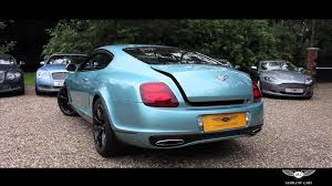 bentley velvet 2012 bentley continental gt supersports marlow cars youtube