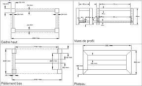 Plan De Table En Bois by Fabriquer Une Table Basse Arracheworks Construisons Ensemble