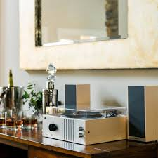 player turntable with detachable speakers zola