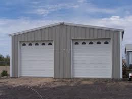 building a 2 car garage steel two car garage in alpine ca customer testimonial