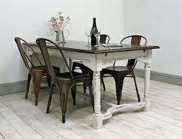 White Distressed Dining Room Table Distressed Table And Chairs Large Size Of Dining Room Distressed