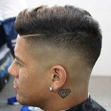 textured top faded sides skin fade haircut bald fade haircut men s haircuts hairstyles 2018